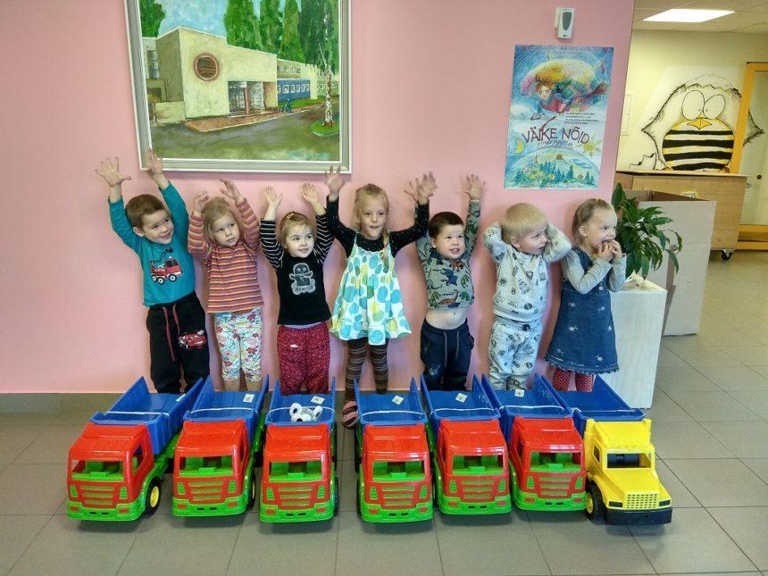Mänguautod lasteaiale