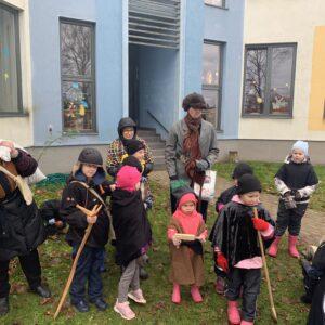 Mardipäeva hommik lasteaias